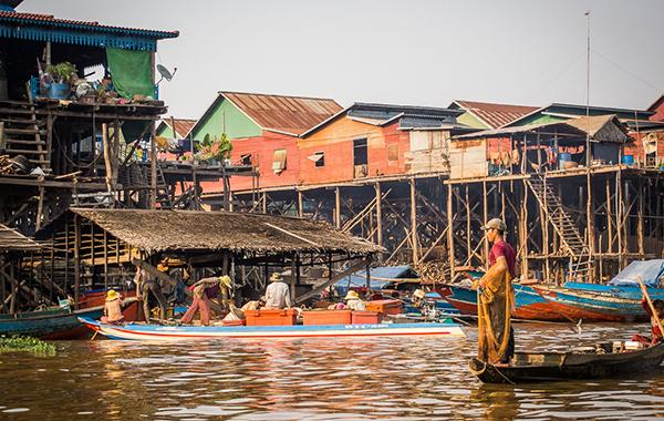 Floating Village - Tonle Sap Lake