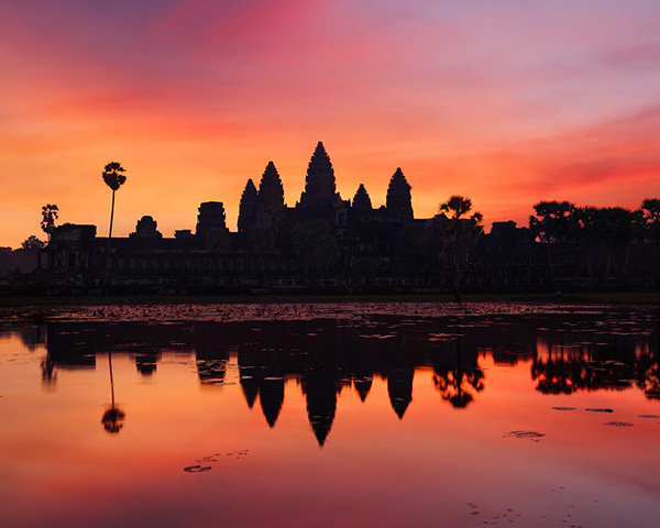 Angkor-Small Tour Circuit with Sunset