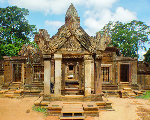 Banteay Srei (lady temple) & Kbal Spean