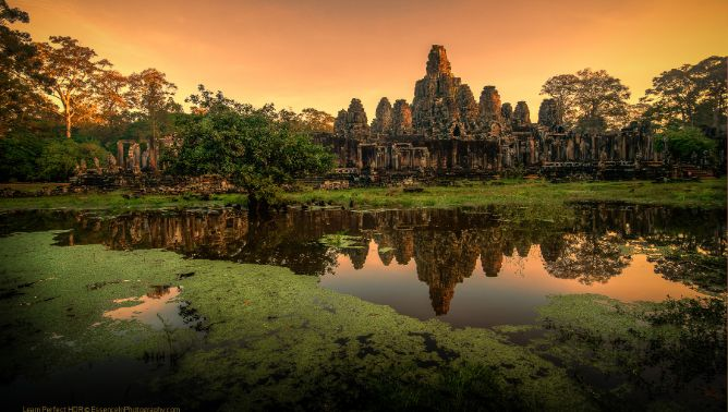 Angkor-Sunrise with Grand Tour