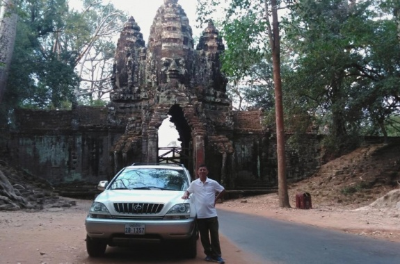 North Gate of Angkor Thom-Small tour