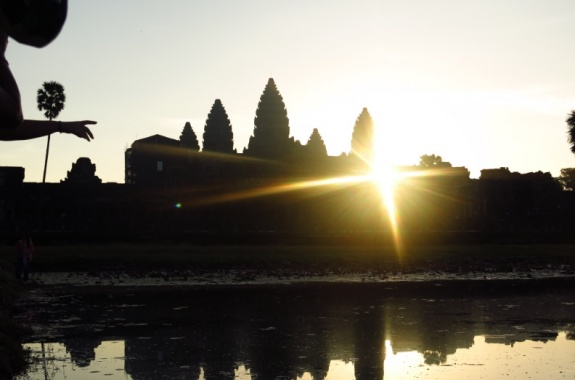 Sunrice at Angkor Wat