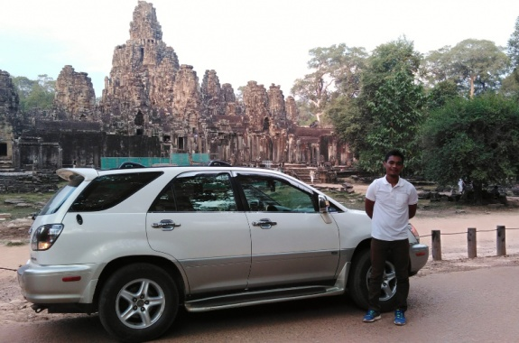Exclusive Car, Bayon temple