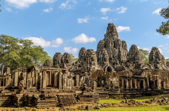 Bayon temple-Small tour