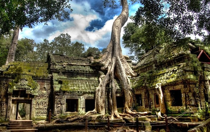 Temples, Tastes & Torrents-5 Day Tours, Cambodia Taxi Driver, Taxi in Siem Reap